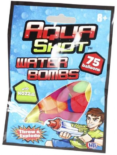 Aqua Shot Water Bombs with Nozzle